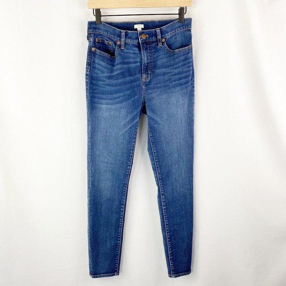 J. Crew Stretch Skinny Jeans Blue Size 29